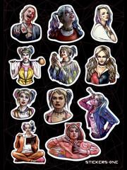Набор стикеров Harley Quinn