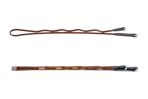 Невидимки Y.S.Park 53 мм коричневые 48 шт
