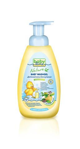 Детский гель для купания Babyline™ Nature 500мл с лечебными травами
