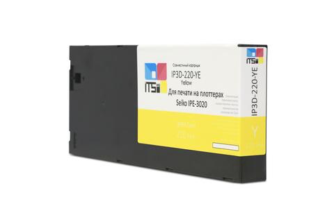 Картридж IP3D-220YE Yellow для Seiko 220 мл