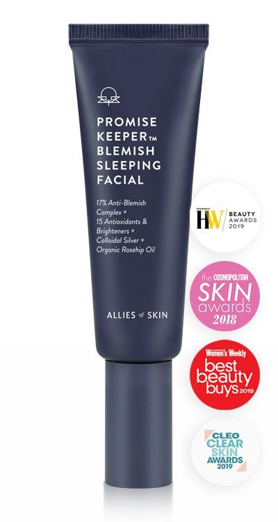Маска для лица Allies of Skin Promise Keeper Blemish Sleeping Facial 50 ml