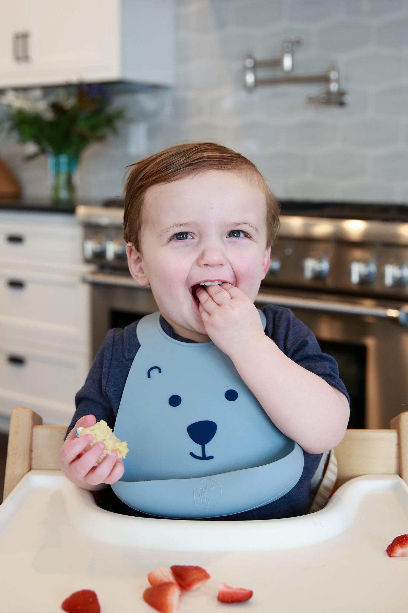 Make My Day Детский нагрудник, Медвежонок