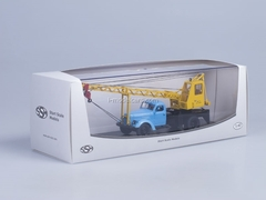 ZIL-164 Truck Crane AK-75 blue-yellow Start Scale Models (SSM) 1:43
