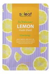 Тканевая маска для лица с экстрактом лимона So Delicious Lemon Mask Sheet 25мл