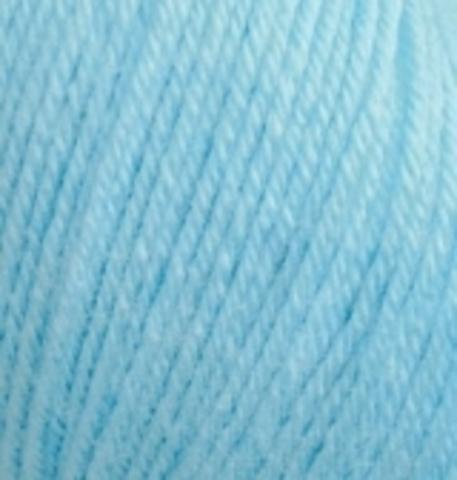 Пряжа Baby wool ( Alize) 128 бирюзовый