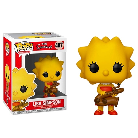Lisa the Simpsons Funko Pop! Vinyl Figure || Лиза Симпсон