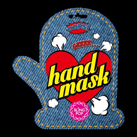 BLING POP Маска для рук с маслом ши BLING POP SHEA BUTTER HEALING HAND MASK 18гр
