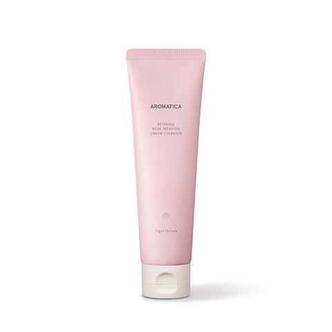 AROMATICA Пенка кремовая с экстрактом розы Reviving Rose Infusion Cream Cleanser 145G