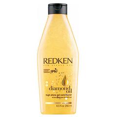Redken Diamond Oil High Shine Conditioner - Гель-кондиционер обогащенный маслами для блеска
