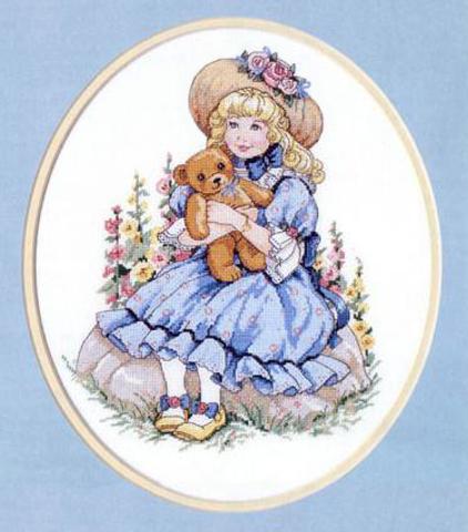 Набор для вышивания Сидящая красавица. Sitting Pretty. Арт. 13577
