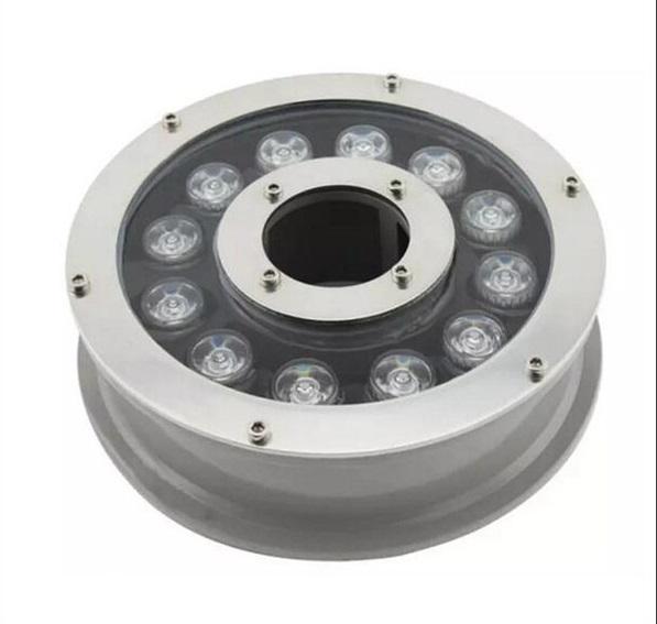 LED Подсветка для фонтана 12w. AC 12-24V (центральный монтаж) RGB