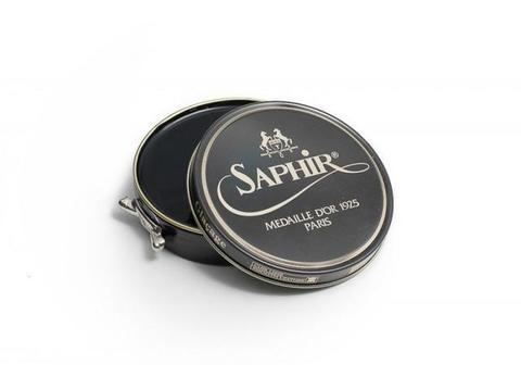 Крем для блеска (глассажа) гладкой кожи Pate De Luxe Saphir Medaille 100 мл, (13 цвета)