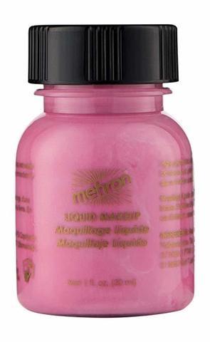 MEHRON Жидкий грим Liquid Makeup, Pink (Розовый), 30 мл