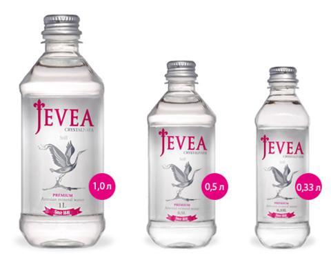 Вода Jevea Crystalnaya Still, 0.5 л