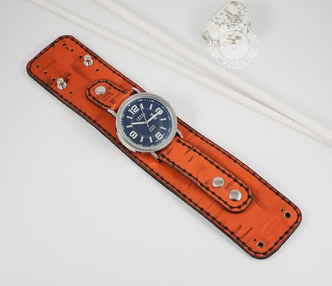 WLS144 Яркий ремень браслет для часов на кобурных застежках