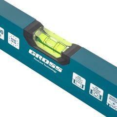 Уровень алюминиевый, 1200 мм, 2 глазка, HanD Werker Gross