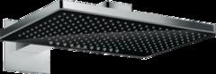 Купить верхний душ  Hansgrohe Rainmaker Select 460 2jet с держателем, черный/хром 24005600 в интернет-магазине не дорого
