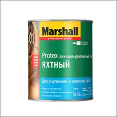 Лак полуматовый для яхты Marshall PROTEX YAT VERNIK 40 (Прозрачный)