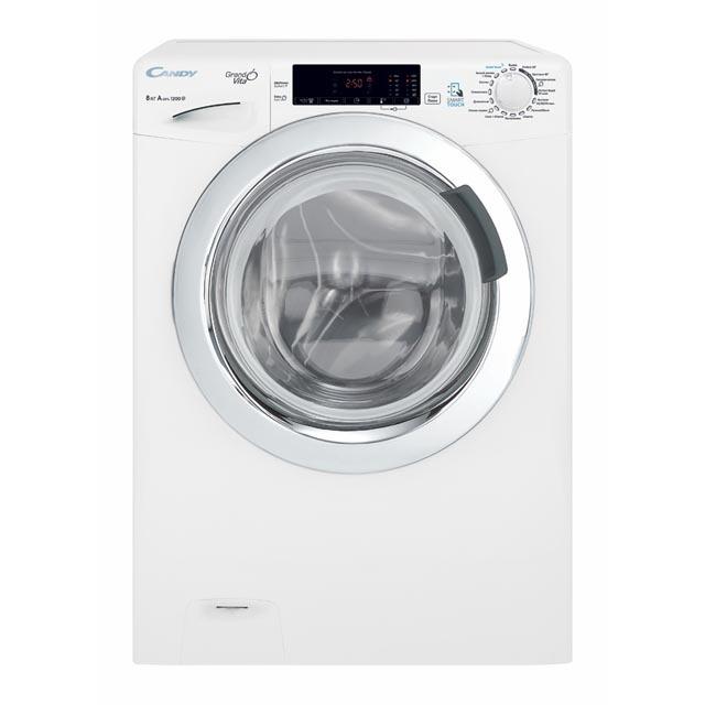 Узкая стиральная машина CandyGrandO Vita Smart GVS44 128TWC3-07 фото