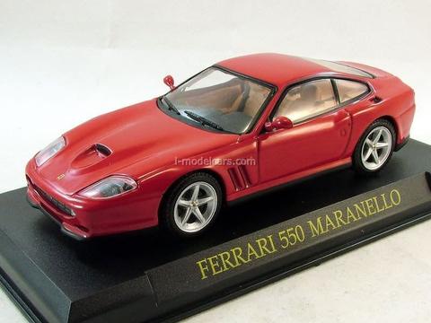 Ferrari 550 Maranello red 1:43 Eaglemoss Ferrari Collection #47