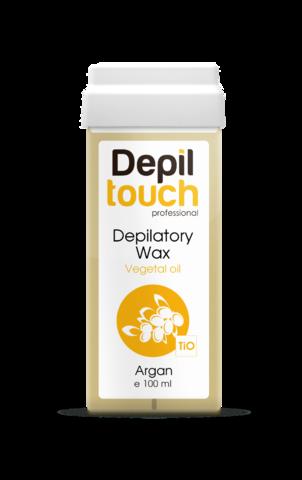 Теплый воск Depiltouch  с маслом арганы, 100 мл