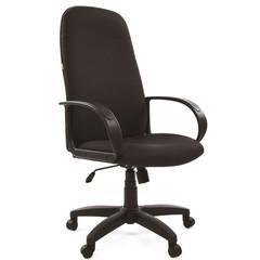 Кресло для руководителя Chairman 279 черное (ткань/пластик)