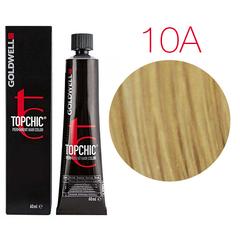 Goldwell Topchic 10A (пепельный пастельный блондин) - Cтойкая крем краска
