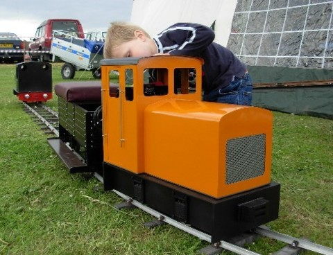 Garden Rail Локомотив Jasper на колею 12,7 см, электрический