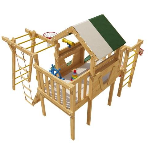 Детский деревянный игровой комплекс Патрик