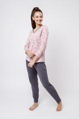 Комплект лонгслив/брюки:жен. МОДЕЛЬ 3
