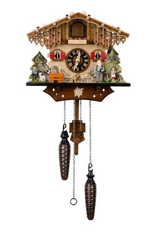 Часы с кукушкой  - Хейди и дедушка
