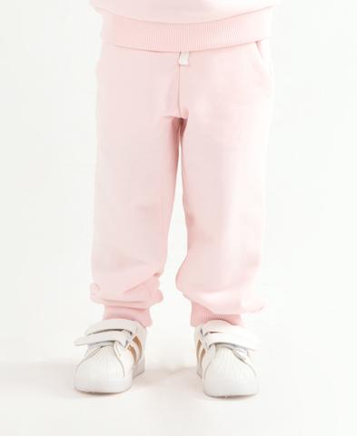 Джоггеры Anlikids цвет светло-розовый