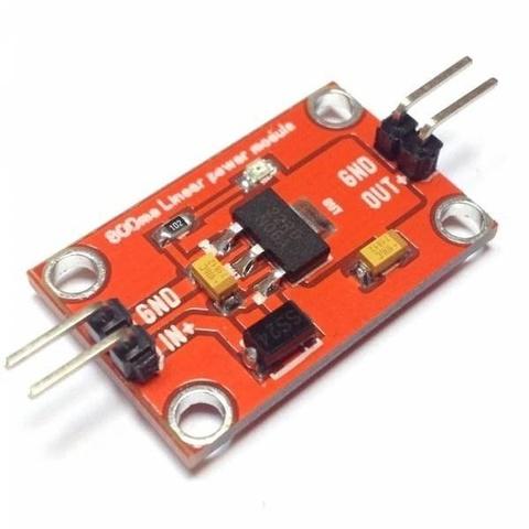 Источник напряжения 5.0В, 800мА - AMS1117-5.0V