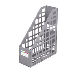 Вертикальный накопитель Attache пластиковый серый ширина 85 мм