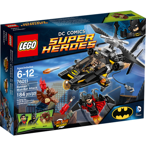 LEGO Super Heroes: Бэтмен: Атака человека-летучей мыши 76011 — Man-Bat Attack — Лего Супергерои ДиСи