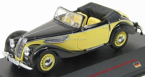 EMW 327 Softtop black-light yellow 1955 IST036 IST Models 1:43