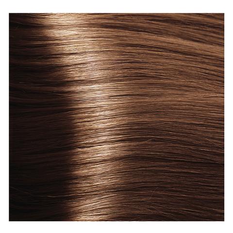 Крем краска для волос с гиалуроновой кислотой Kapous, 100 мл - HY 6.43  Темный  блондин медный золотистый