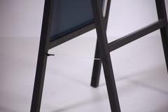 УН-150-48 Зеркало напольное обувное (черное)