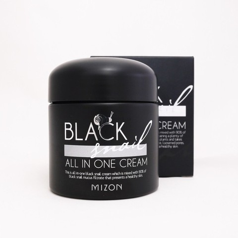 MIZON SNAIL Крем многофункциональный с экстрактом черной улитки Black snail all one cream 75 мл