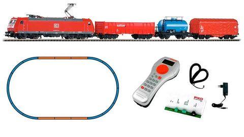 Стартовый набор Электровоз BR 185 + 3 грузовых вагона, DB AG, Ep.VI, цифровой, SmartControl light