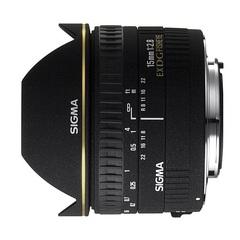 Объектив Sigma AF 15mm f/2.8 EX DG Diagonal Fisheye для Sony A