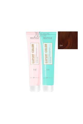 Expert Color Hair Color Cream 5/4 светлый шатен медный 100 мл