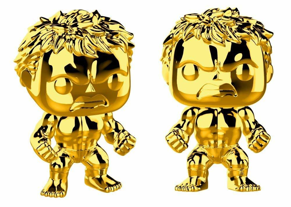 Фигурка Funko POP! Bobble: Marvel: MS 10: Hulk (Chrome)  33517