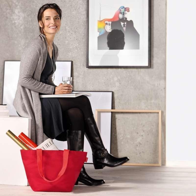 Сумка шоппер женская для покупок продуктов и шопинга Shopper M dots Reisenthel ZS7009 | Купить в Москве, СПб и с доставкой по всей России | Интернет магазин www.Kitchen-Devices.ru