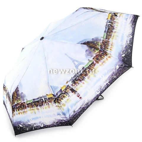 Женский зонтик автоматического сложения Magic Rain Париж