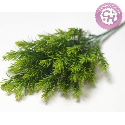 Искусственная зелень Травка елочкой, 40 см.