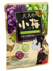 Леденцы Японская слива и мускат ассорти, Lotte, 60 гр.