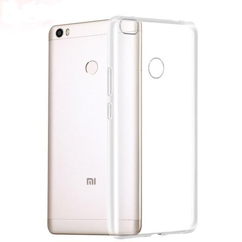 Чехол-накладка для Xiaomi Mi Max 2 силиконовый прозрачный