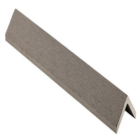 Угловой профиль CM Decking Ebony серый 2 м