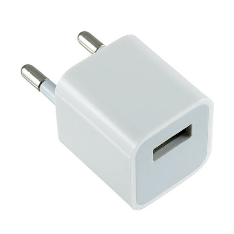 СЗУ USB (кубик) 1A (500mA/h) 3G